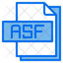 Asf File Format Type Icon