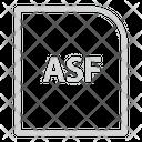 Asf Extension File Icon