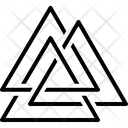 Asgard Logo Triangle Icon