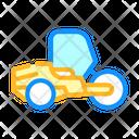 Road Roller Color Icon