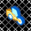 Road Roller Isometric Icon