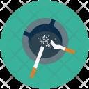 Ashtray Cigarette Cigar Icon