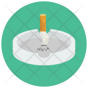 Putting Cigarette Out Icon