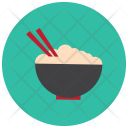 Asian Bowl Rice Icon