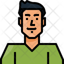 Avatar Asian Man Icon