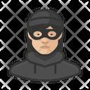 Asian Burglar Female Asian Burglar Icon