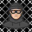 Asian Burglar Male Asian Burglar Icon