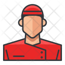 Asian Chef Man Icon