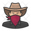 Asian Cowboy Bandit Asian Icon