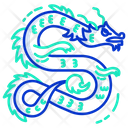 Asian Dragon Icon