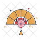 Fan Asian Chinese Icon