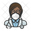 Avatar Doctor Black Icon
