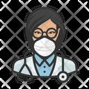 Avatar Doctor Asian Icon