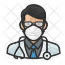 Avatar Doctor Asian Icon