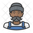 Asian Male Fisher Icon