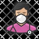 Avatar Nurse Asian Icon
