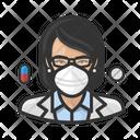 Avatar Pharmacist Asian Icon