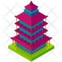Asian Tower Building Icon