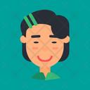 Asian Woman Icon