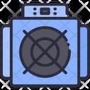 Asic Mining Icon