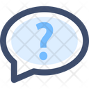 Ask Ask Me Question Chat Icon