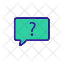 Support Question Contour Icon