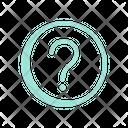 Ask Help Faq Icon