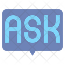 Ask Ask Me Question Message Icon