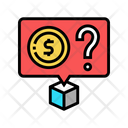 Ask Money Cost Price Icon