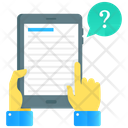 Ask Question Ask Help Ebook Icon