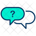 Question Chat Chatting Icon