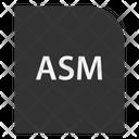 Asm File Document Icon