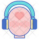 Asmr Live Streaming Voice Control Icon