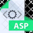 Asp File Asp File Format Icon