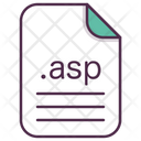 Asp File Document Icon
