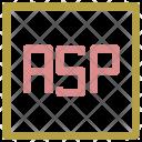 Asp Format File Icon