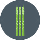 Asparagus Plant Decoration Icon