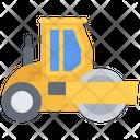 Asphalt Roller Car Icon