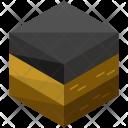 Asphalt Terrain Soil Icon