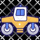 Asphalt Roller Asphalt Compactor Icon