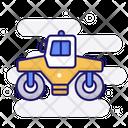 Asphalt Roller Road Roller Vibratory Roller Icon
