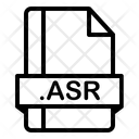 Asr File Format Icon