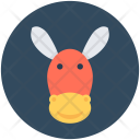 Ass Mule Okapi Icon