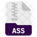 Ass File Document Icon