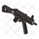 Gun Weapon Assault Gun Icon