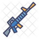 Assault Rifle Rifle Machine Gun Icon