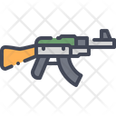 Assault Rifle Rifle Gun Icon