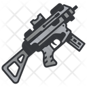 Weapon Rifle Machine Icon