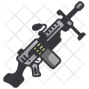 Gun Army Rifle Icon