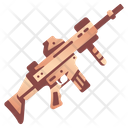 Rifle Army Weapon Icon